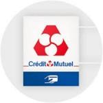 logo banque  credit mutuel