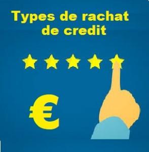 Quels sont les différents types de rachat de crédit ?
