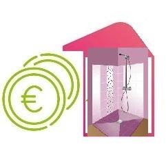 Rachat de crédit immobilier plus prêt travaux douche à l'italienne