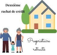 A la recherche des meilleurs taux pour un deuxième rachat de crédit étant propriétaire retraité ?