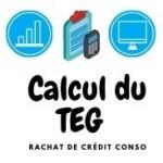 Comment calculer le TEG de son rachat de crédit conso ?